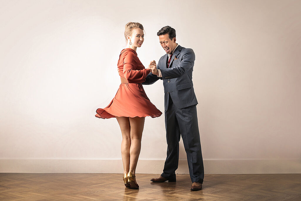 [Translate to Englisch:] Lindy Hop-Kurse beim Studentenwerk